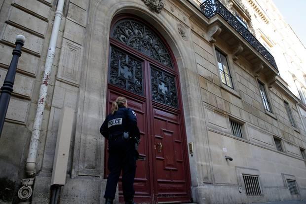 In dieser Luxus-Residenz in der Rue Tronchet in Paris übernachtete Kim Kardashian.