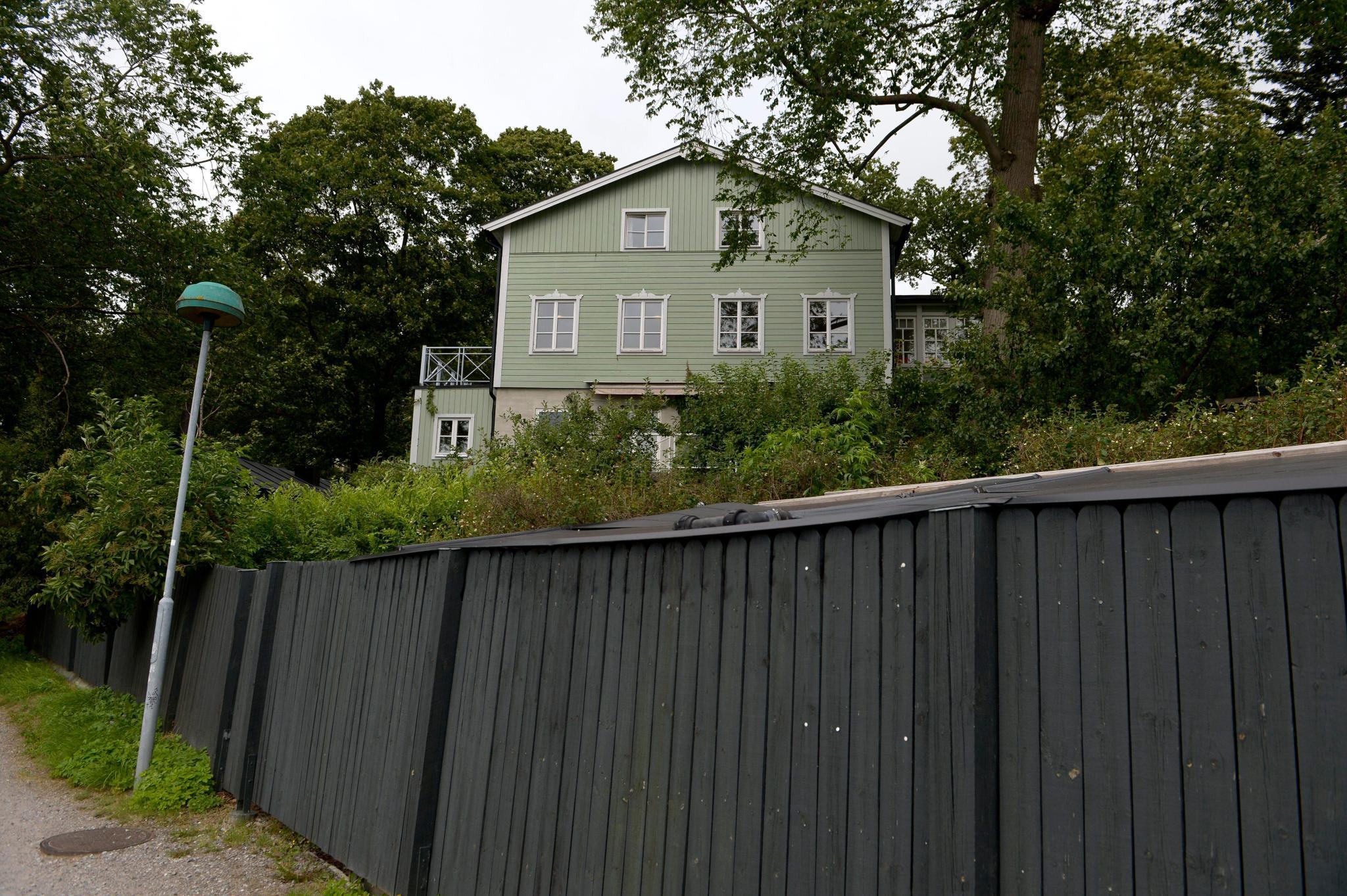 """Die Montessori -Schule """"Lilla Kvikkjokk"""" im Stockholmer Stadtteil Djurgarden"""