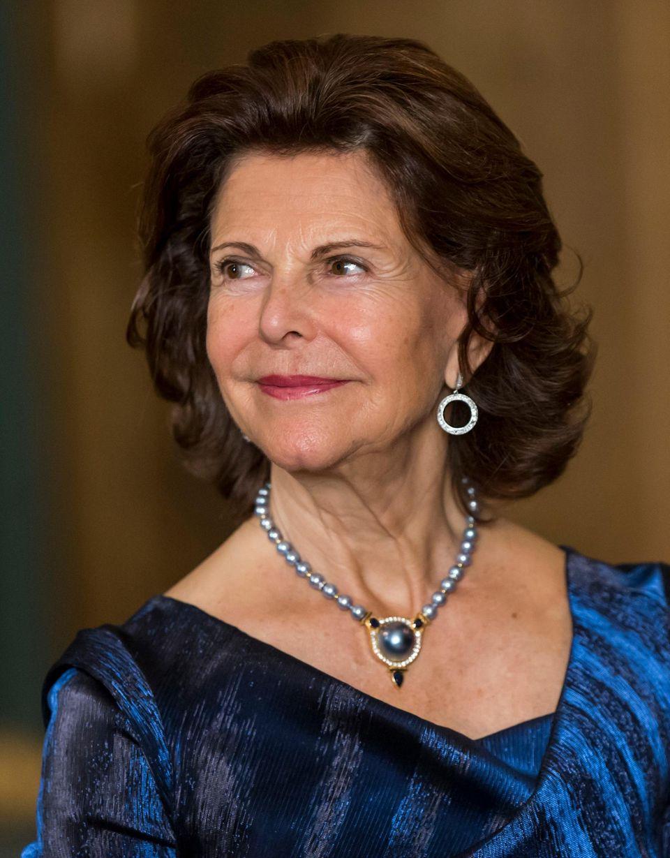 Königin Silvia beim Galaempfang