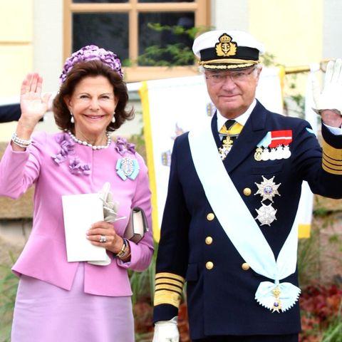 Königin Silvia, König Carl XVI. Gustaf