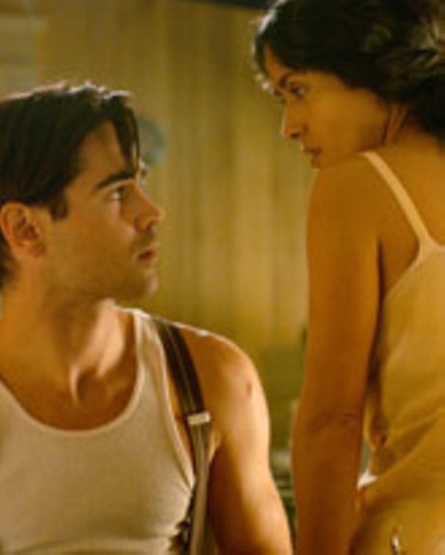 "Salma Hayek und Colin Farrell in ""Ask the Dust"""