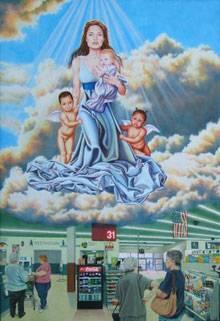 """""""Blessed Art Thou"""" von Künstlerin Kate Kretz"""