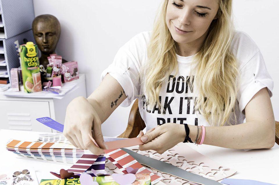 """Für die Saftfirma """"Rauch"""" hat Marina Hoermanseder die Verpackung einer """"Limited Edition"""" designt."""