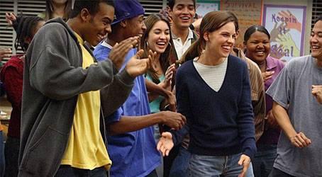 Hilary Swank hält sich tapfer zwischen schwierigen Schülern - und vielen Klischees