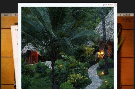 Die Blancaneaux-Lodge in Belize wurde von Francis Ford Coppola kreiert