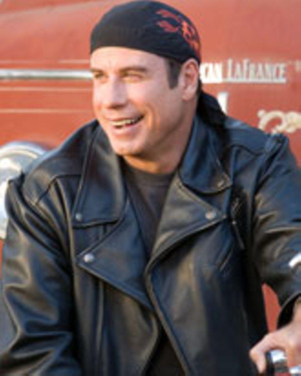 """JOhn Travolta in """"Born to be wild - Saumässig unterwegs"""""""