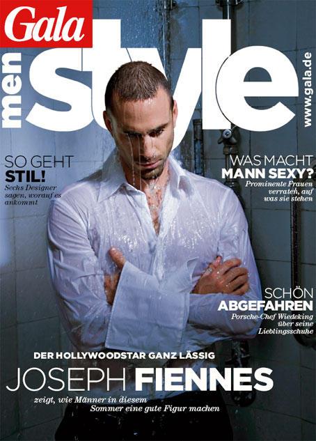 Auch sehr sexy: Schauspieler Joseph Fiennes posierte für das Cover der GALA Men Style