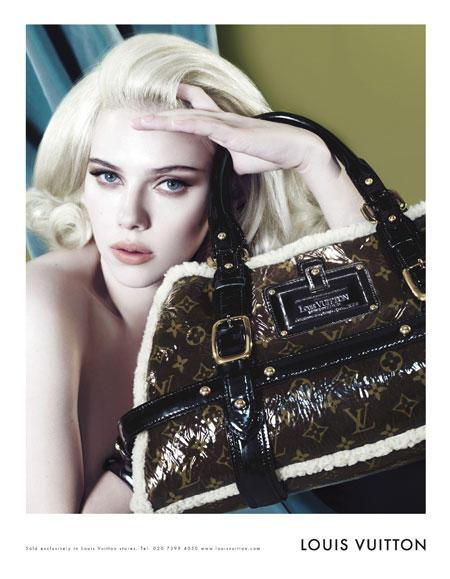Scarlett Johansson ganz ladylike in der Herbst-Kampagne von Louis Vuitton