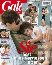 Rührende Bilder vom neuen Familienglück finden Sie in der aktuellen Ausgabe (Nr. 27) der GALA