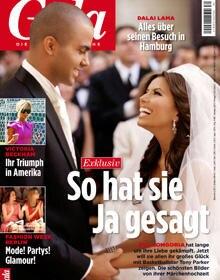 GALA zeigt die schönsten Hochzeitsmomente von Eva Longoria und Tony Parker