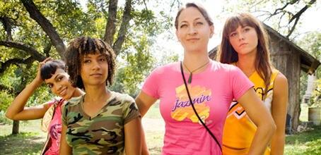 Abernathy, Kim, Zoe und Lee