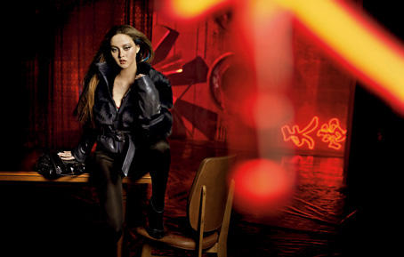 Devon Aoki für die Herbst-/Winterkollektion von Boss Orange