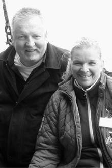 Tamme (†) und Carmen Hanken.