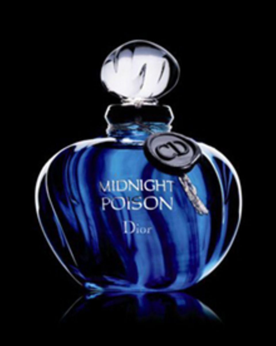 """Diors """"Midnight Poison"""" mit Noten aus Rosenextrakt, Amber und Patchouli (50 ml EdP, ca. 70 Euro)"""