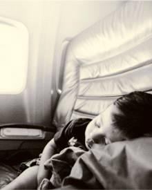 Der Flug verging wie im Schlaf