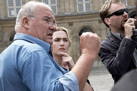 Peter Lindbergh, Kate Winslet, Trésor - Alte Bekannte am Set: Regisseur Peter Lindbergh und seine Protagonistin Kate Winslet