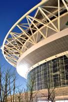 Das spektakuäre Tennis-Stadion