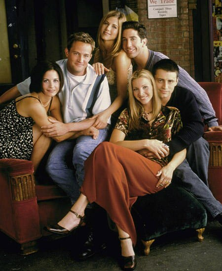 """Insgesamt zehn Staffeln brachten uns die Freunde von """"Friends"""" zum Lachen"""
