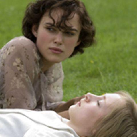 "Keira Knightley in ""Abbitte"""
