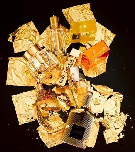 Goldene Zeiten für's Badezimmer: Edelkosmetik- und Düfte in luxuriösen Flakons