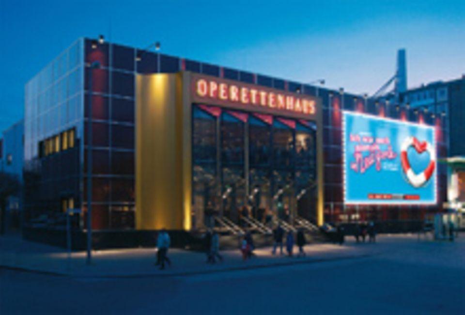 Im TUI-Operettenhaus in Hamburg wird in See gestochen