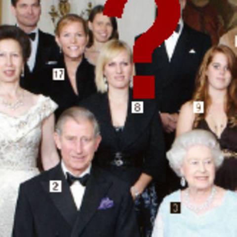 Who's who der englischen Königsfamilie