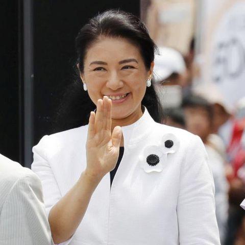 Prinzessin Masako mit Ehemann Naruhito und Tochter Aiko im August