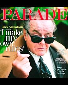 """Jack Nicholson auf dem Cover der aktuellen Ausgabe der """"Parade"""""""
