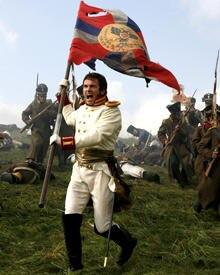 Alessio Boni kämpft als Prinz Andrej in Austerlitz
