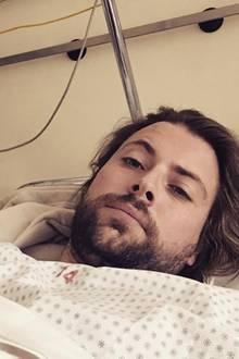 Felix von Jascheroff liegt im Krankenhaus