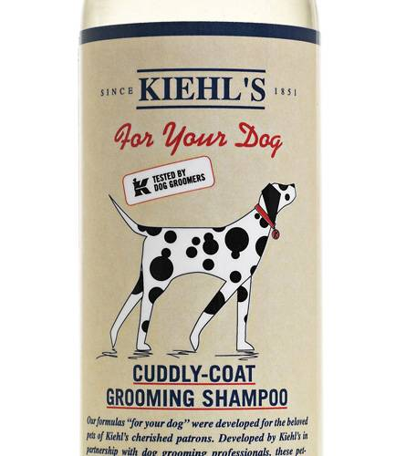 "Nettes Mitbringsel aus Amerika: Kiehl's ""Cuddly-Coat Grooming Shampoo"""