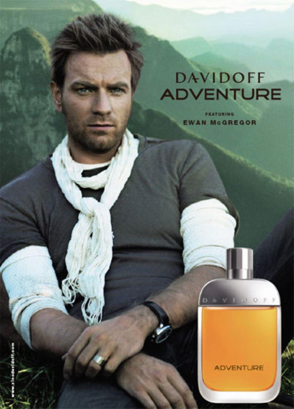 Anzeigenmotiv Ewan McGregor für Davidoff