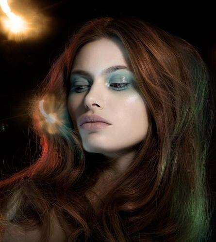 Make-up-Trends: Kühler Pastell-Look in farbintensiven Sorbettönen