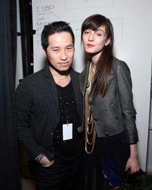 Modedesigner Phillip Lim und Model Irina Lazareanu