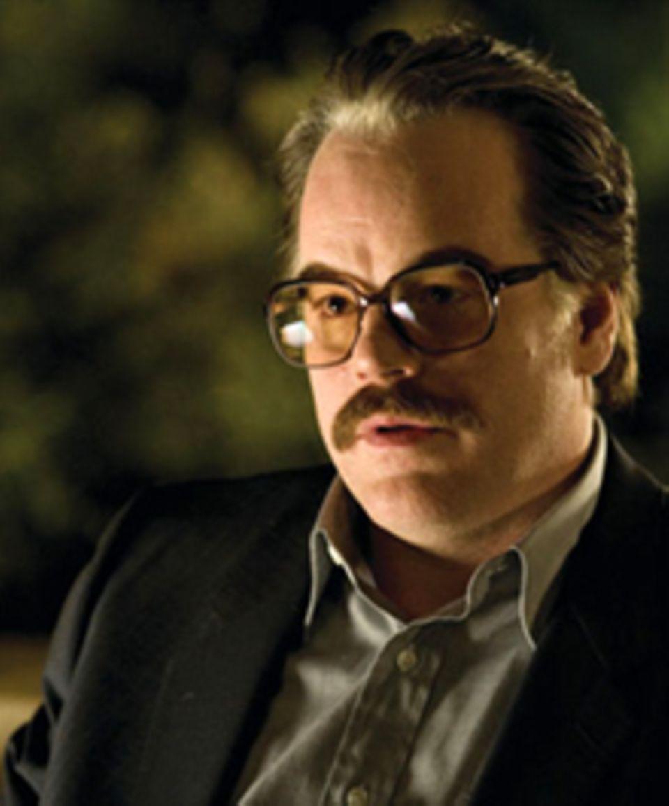 Philip Seymour Hoffman spielt den CIA Agenten Gust Avrakotos