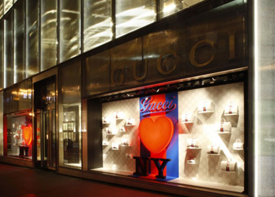 Der Gucci Store in New York