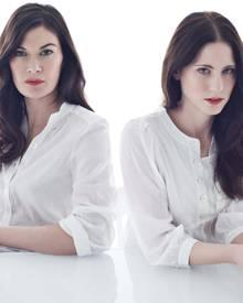 Die Designerinnen Alexandra Fischer-Roehler und Johanna Kühl vom Label Kaviar Gauche