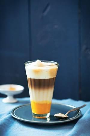 Kürbis-Gewürz-Latte-Macchiato