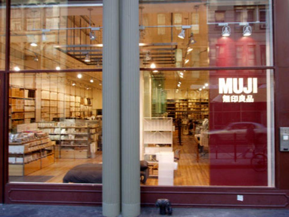 """Der neue """"Muji""""- Store am Broadway in New York"""