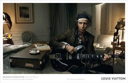 Keith Richards für Louis Vuitton