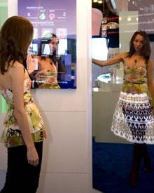 Magic Mirror an der Wand - was passt denn noch zu meinem Gewand?