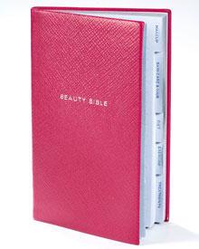 """Ledernes Notizbuch """"Beauty Bible"""" für selbst gesammelte Tipps und Tricks"""