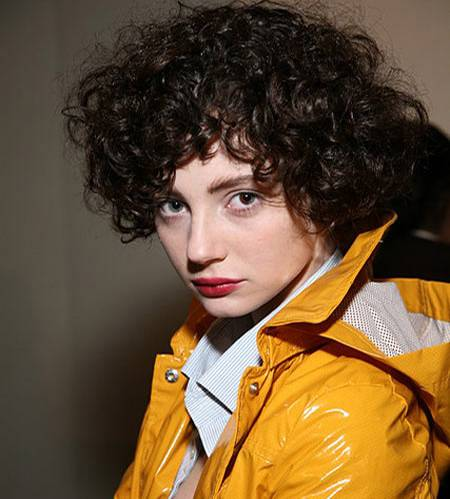 Heidi Rock war der Locken-Star auf der Fashion Week in New York. Ihr Look begeisterte auch backstage bei Designer Phillip Lim