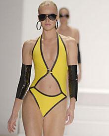 Bikini oder Badeanzug? GOTTEX lässt in seiner diesjährigen Kollektion die Grenzen verschwimmen