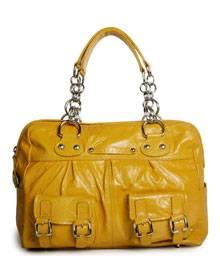 Gelbe Tasche von Janet & Janet, ca. 290 Euro
