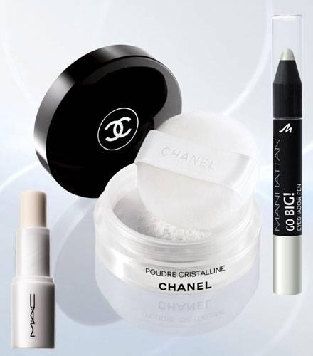 Ob Lidschatten, Eyeliner oder Lippenpflege: Beim Styling kommt in diesem Sommer niemand an der Farbe Weiß vorbei.