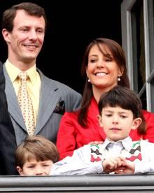 Marie Cavallier versteht sich großartig mit Prinz Joachims Söhnen