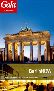 "Das Cover des ""GALA CityGuide Berlin"""