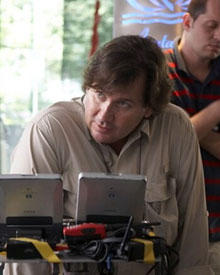 Erfolgsproduzent David Nutter am Set für den neuen Werbefilm