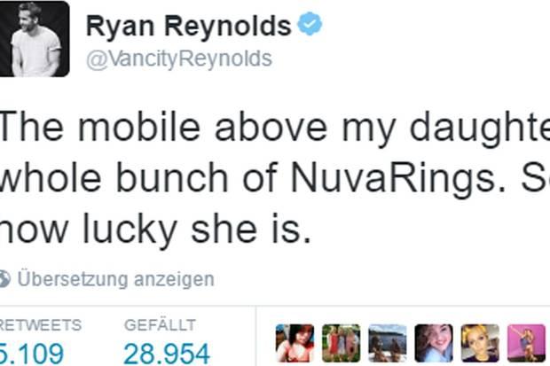 Blake Lively + Ryan Reynolds: Verrät er hier das Geschlecht ihres Babys?